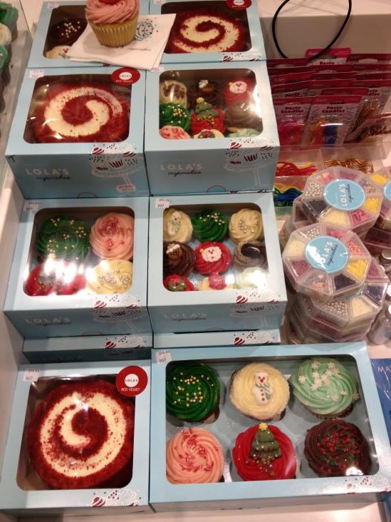 Cupcakes chez Top Shop