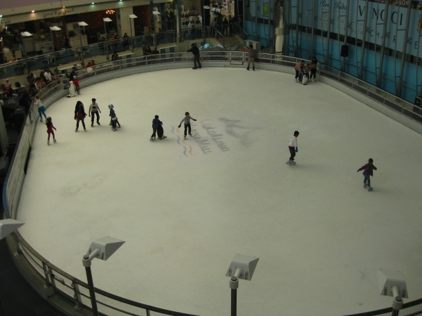 Patinoire Dubai Mall