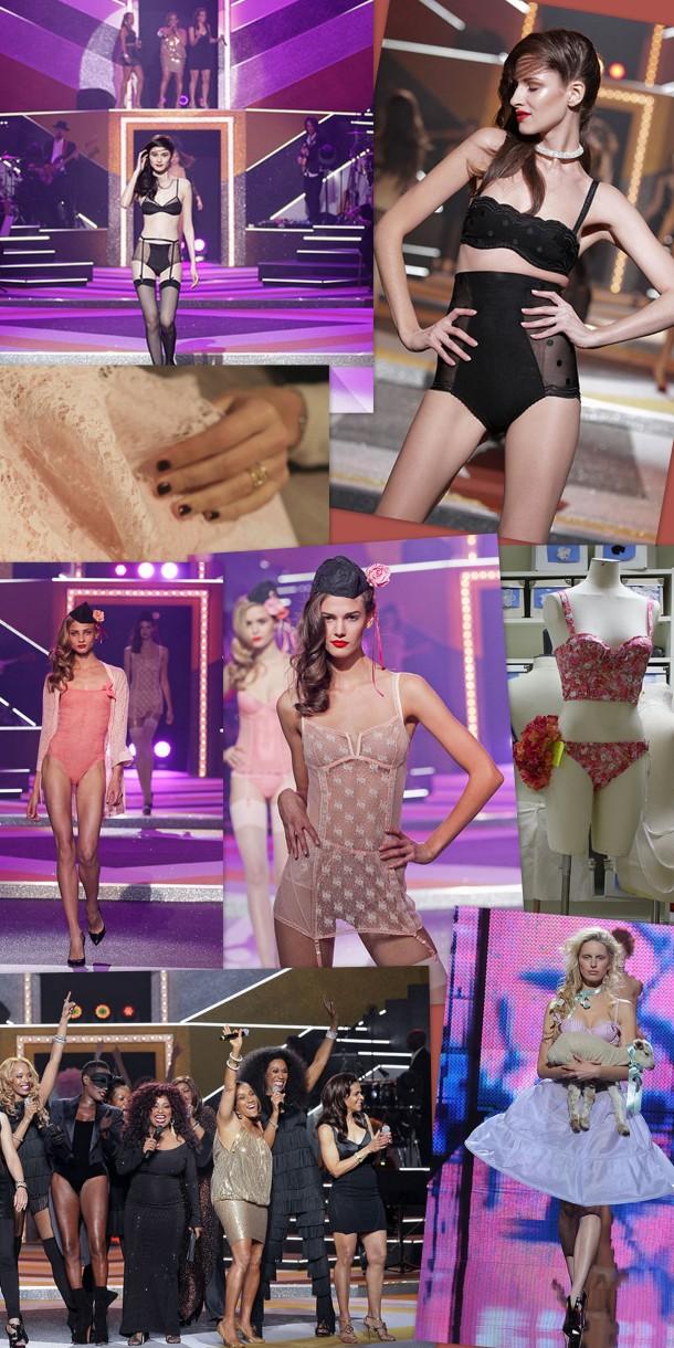 Etam live show lingerie