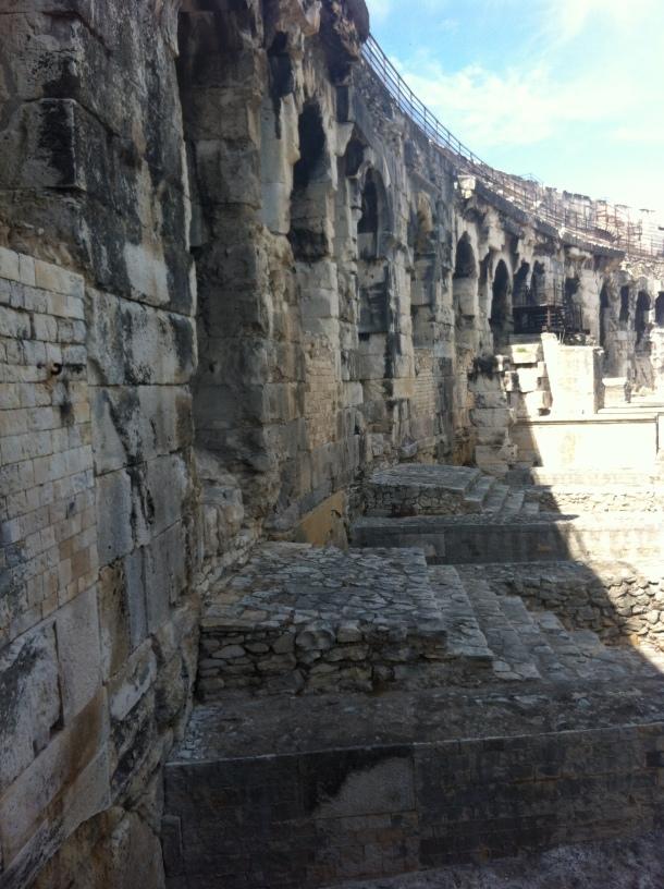 Intérieur Arènes de Nîmes
