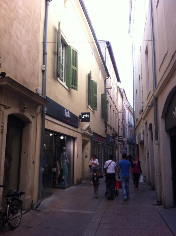 Rue de Nîmes