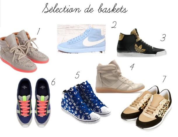 sélection de baskets 2