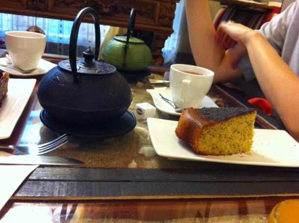 Gâteau pavot orange