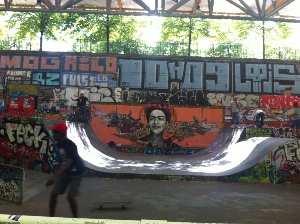 Skate parc Bercy Village