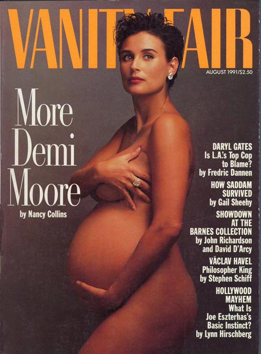 Une Vanity Fair Demi Moore