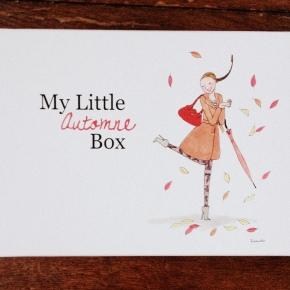 My little box du mois de novembre – AutomneBox
