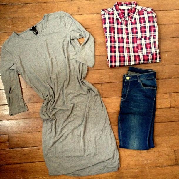 Shopping new look, naf naf, h&m