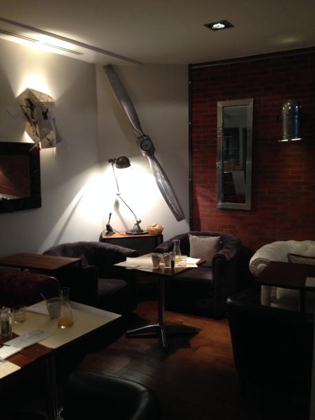 Intérieur Café des Lettres