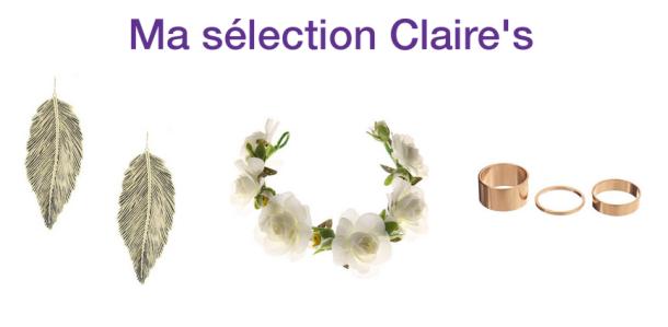 Ma sélection Claire's