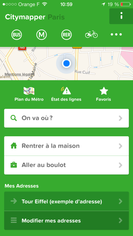 homa application city mapper