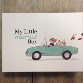 My little box de Mai – La Week-end Box