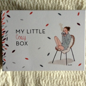 My little box de Novembre – la Cosy Box