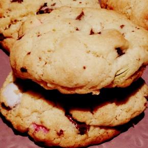 Ma recette de cookies Smarties et chunks dechocolat