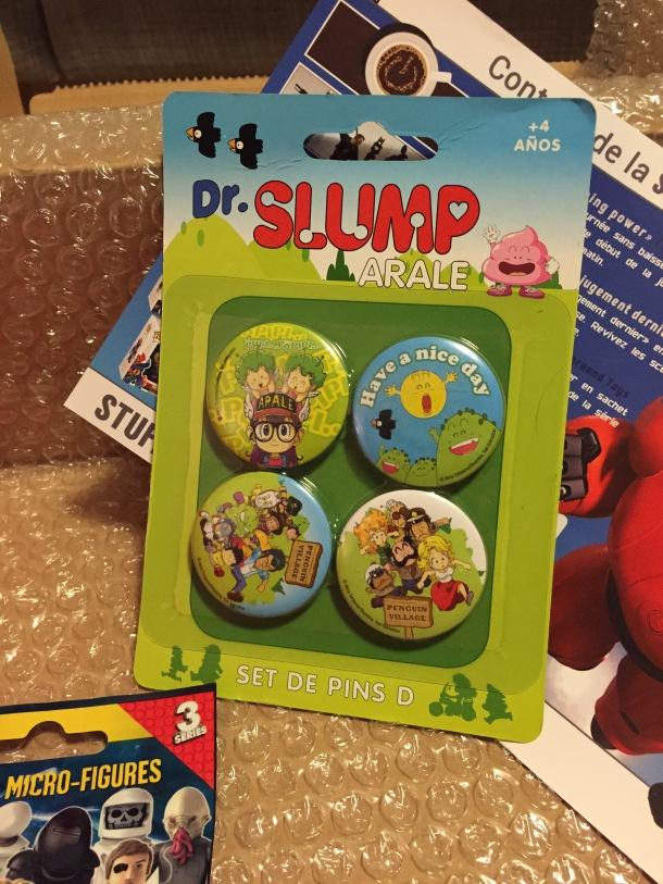 Badge Dr Slump