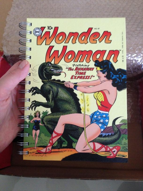 Cahier Wonder woman